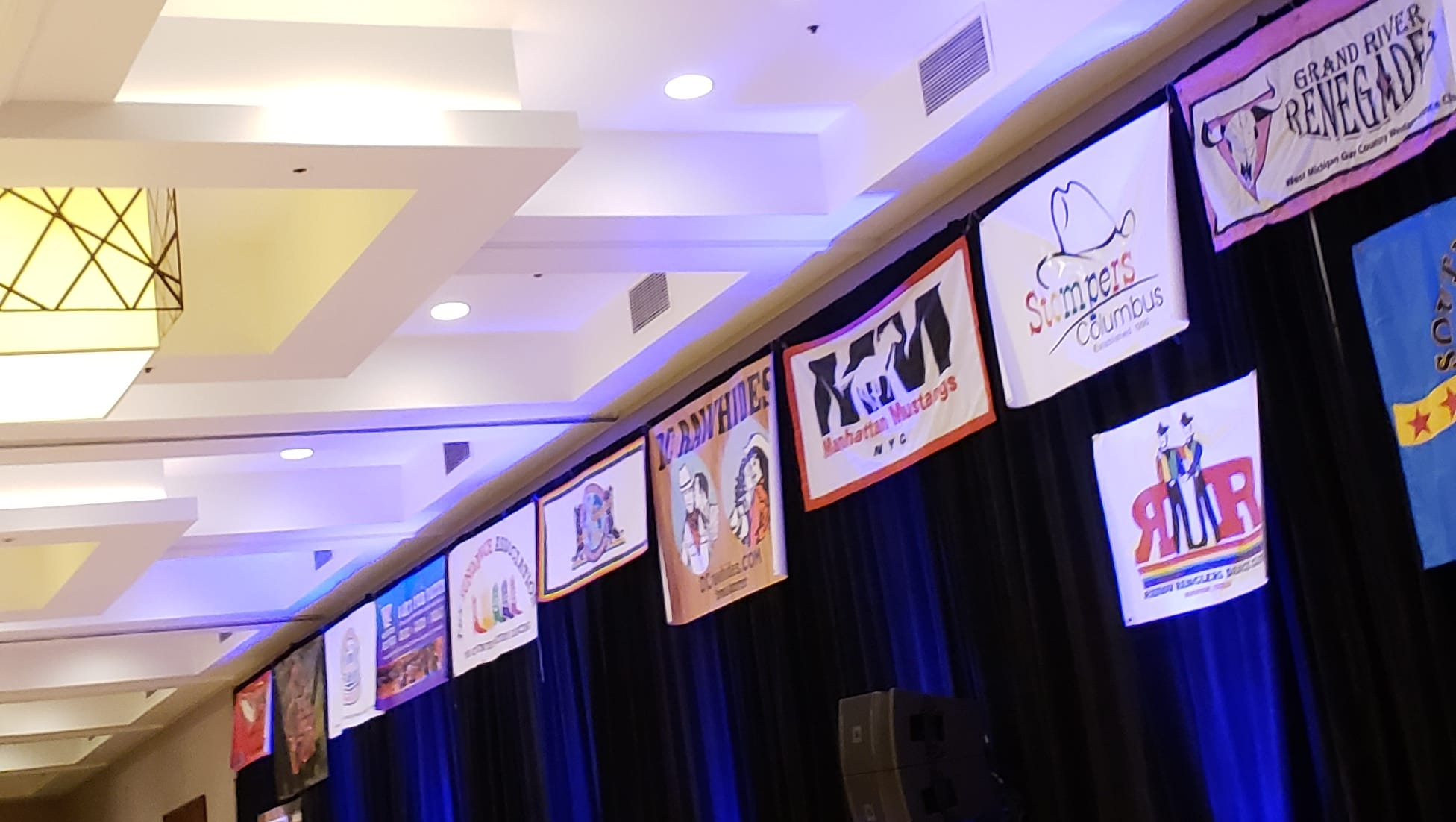 Club Banners at the 2018 Louisville Hoedown